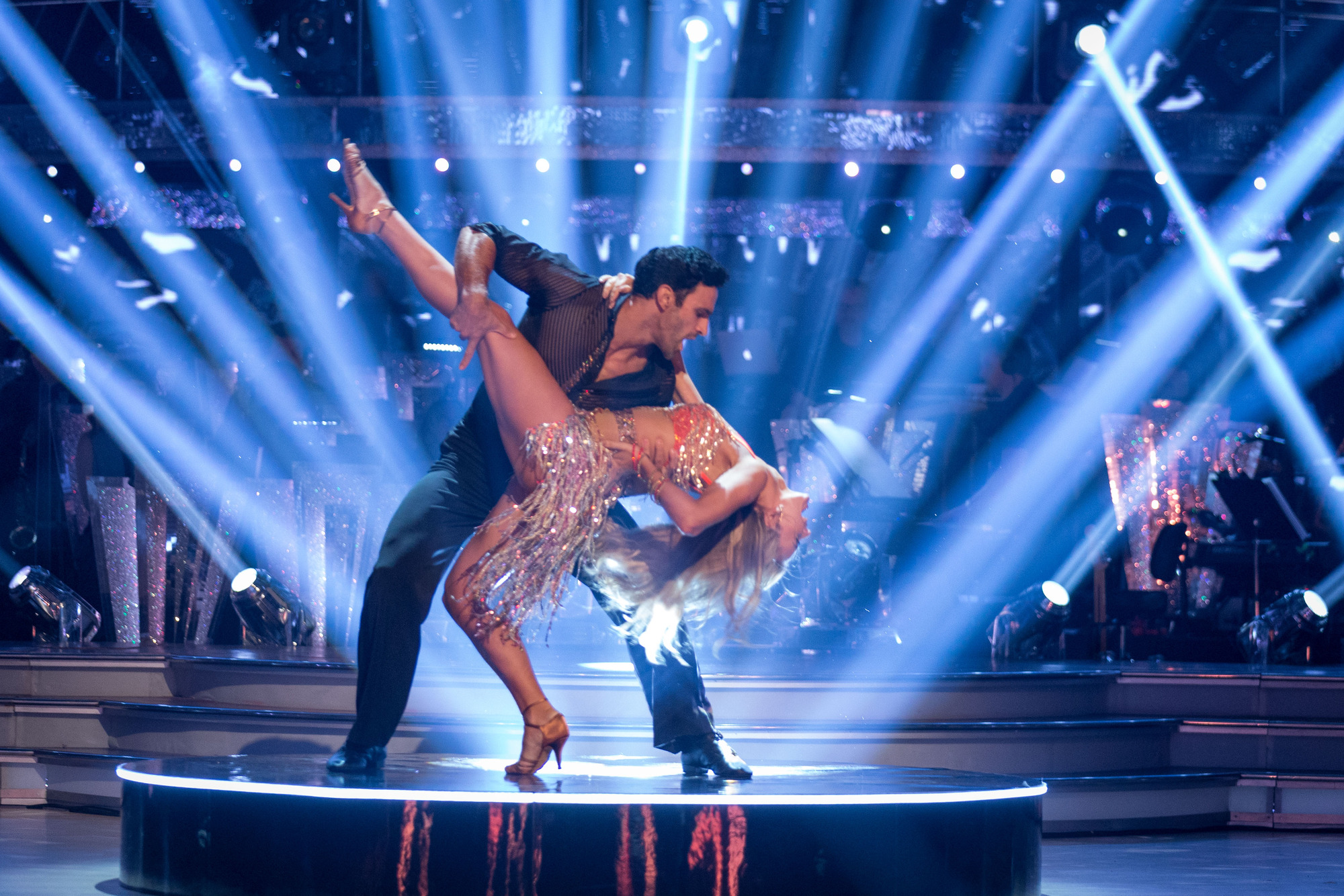 Davood Ghadami takes on Strictly week one