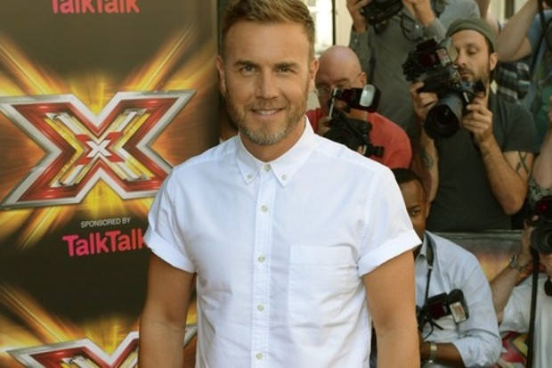 Gary Barlow on The X Factor