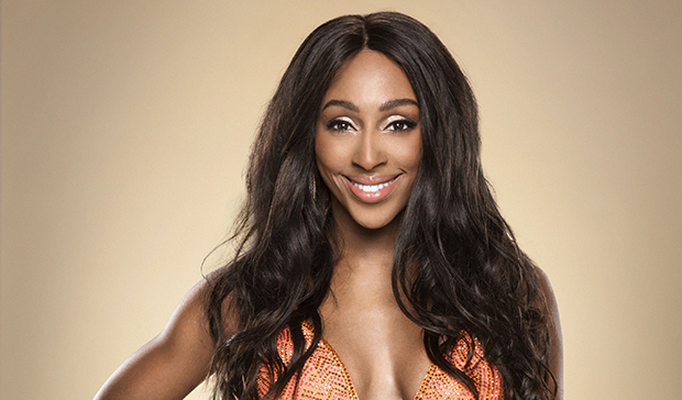 Alexandra Burke on Strictly Come Dancing