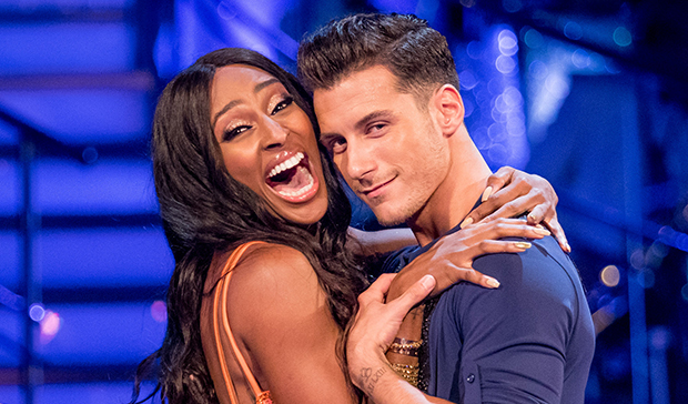 Alexandra Burke and Gorka Marquez on Strictly Come Dancing