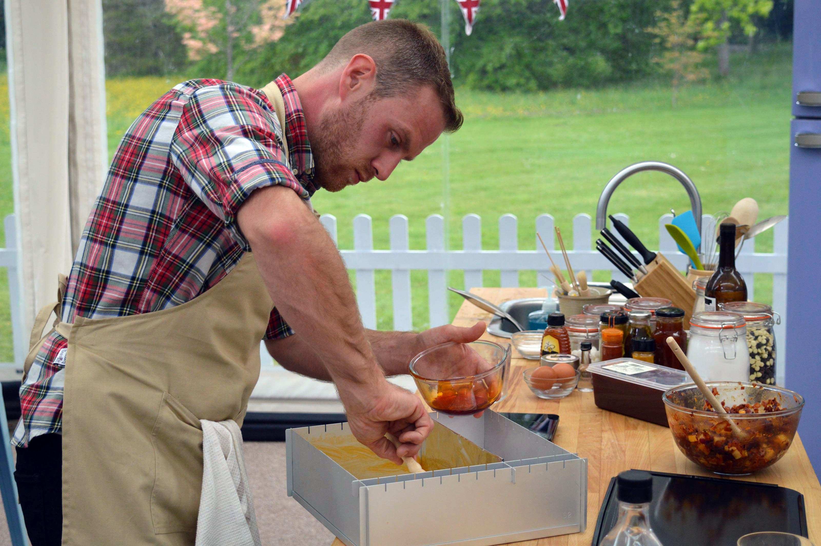 The Great British Bake Off's Steven makes his Showstopper