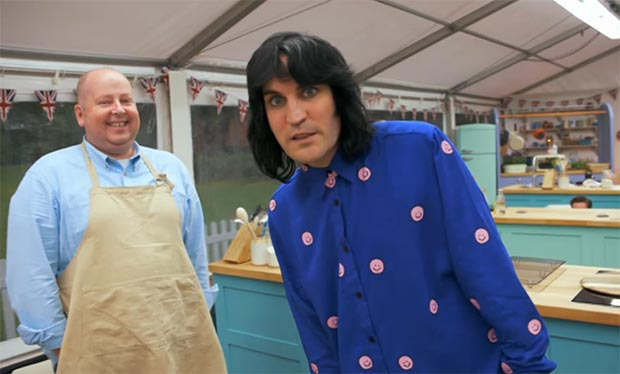 The Great British Bake Off Noel Fielding