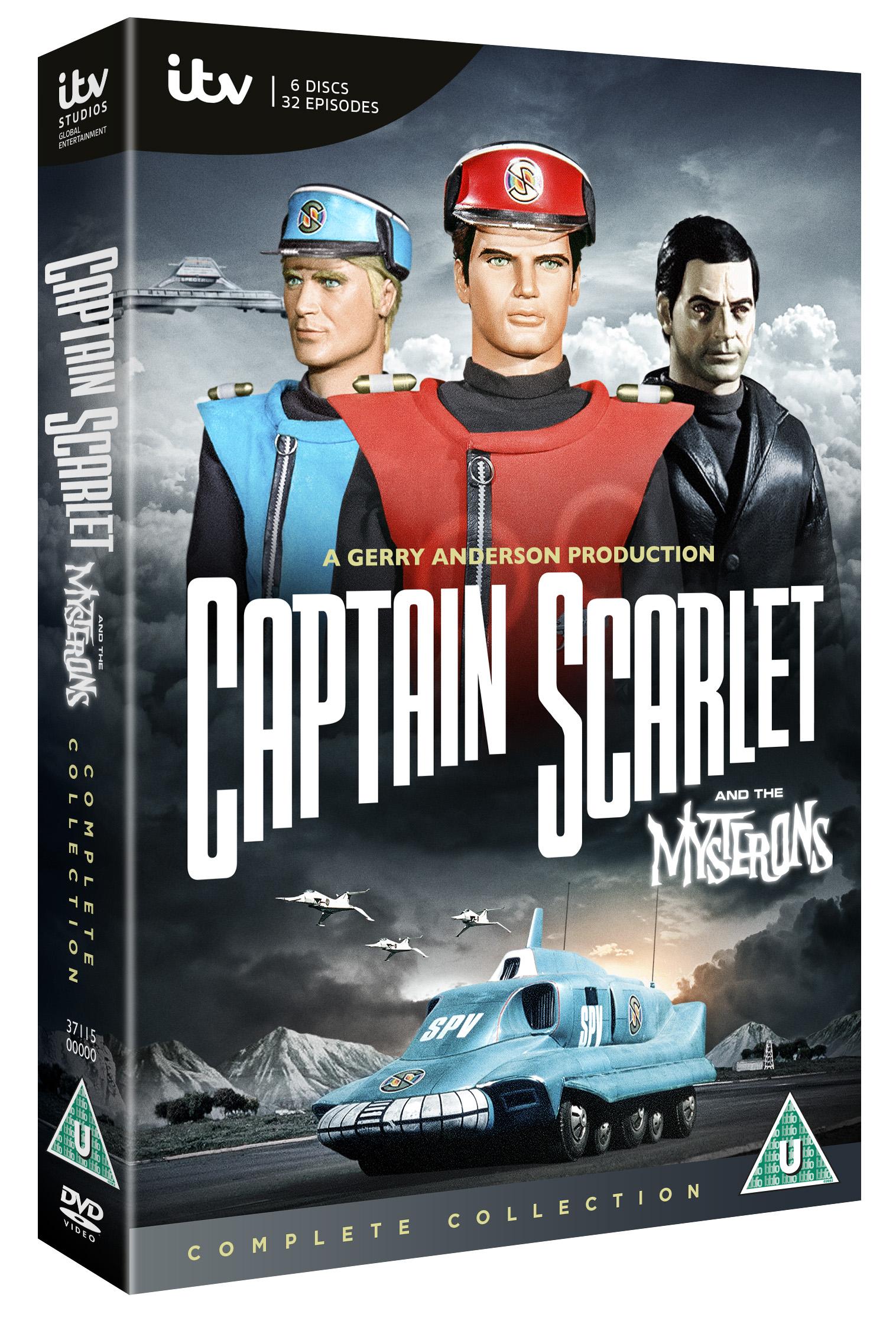 Captain Scarlet DVD 3D