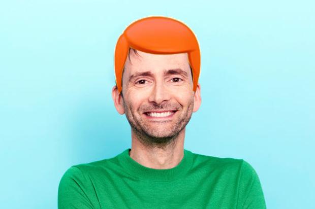David tennant red head