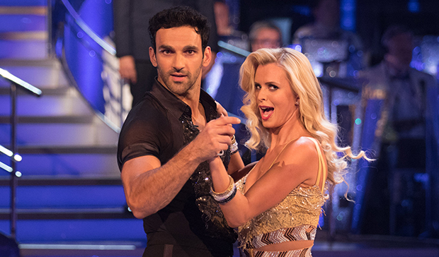 Davood Ghadami and Nadiya Bychkova on Strictly Come Dancing