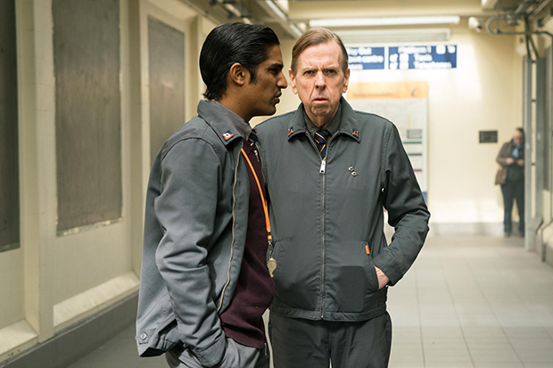 Rudi Dharmalingam as Bob in Electric Dreams episode The Commuter