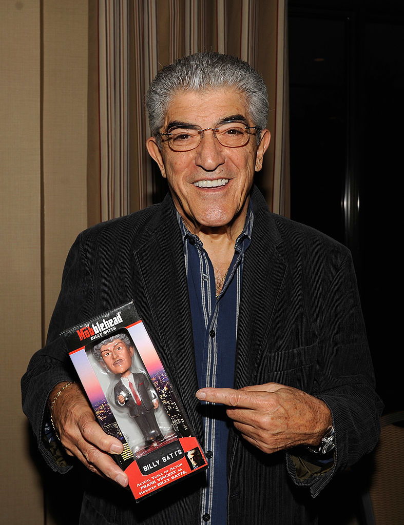 Goodfellas and Sopranos actor Frank Vincent