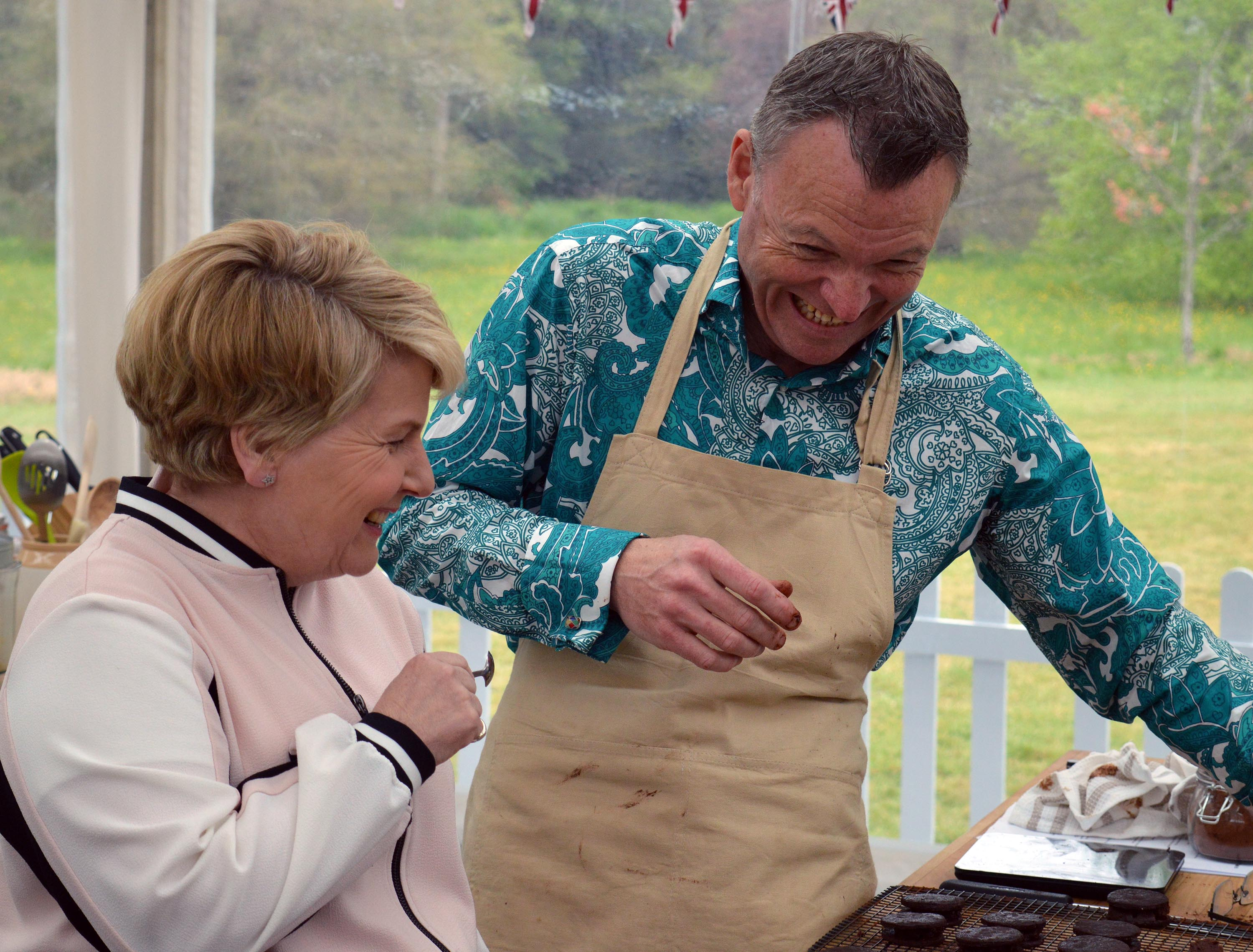Bake Off 2017: Sandi and Chris