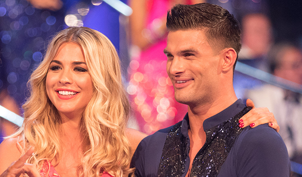 Gemma Atkinson and Aljaz Skorjanec on Strictly Come Dancing