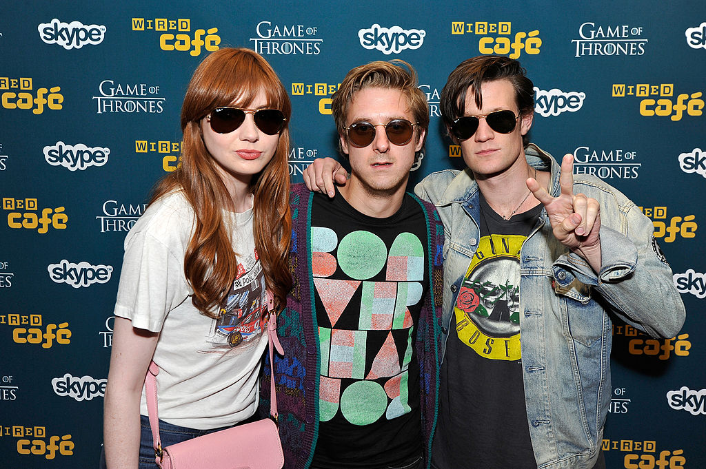 Doctor Who Karen Gillan, Arthur Darvill, Matt Smith