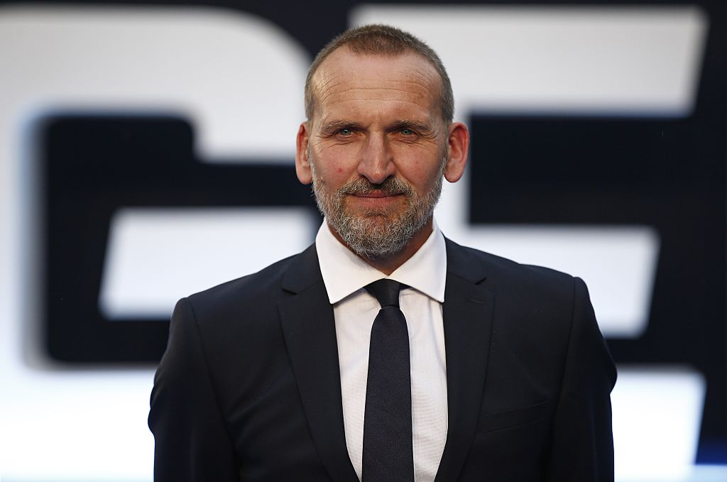 Actor and former Doctor Who star Christopher Eccleston reveals he is writing his memoirs