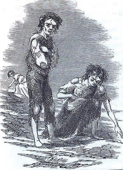 James Mahony famine