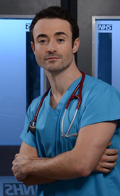 Joe McFadden as Raf di Lucca in Holby City