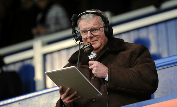He thinks it's all over... John Motson steps down after 50 years