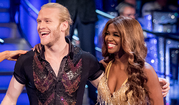 Jonnie Peacock and Oti Mabuse on Strictly Come Dancing