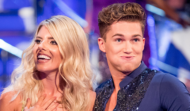 Mollie King and AJ Prichard on Strictly Come Dancing