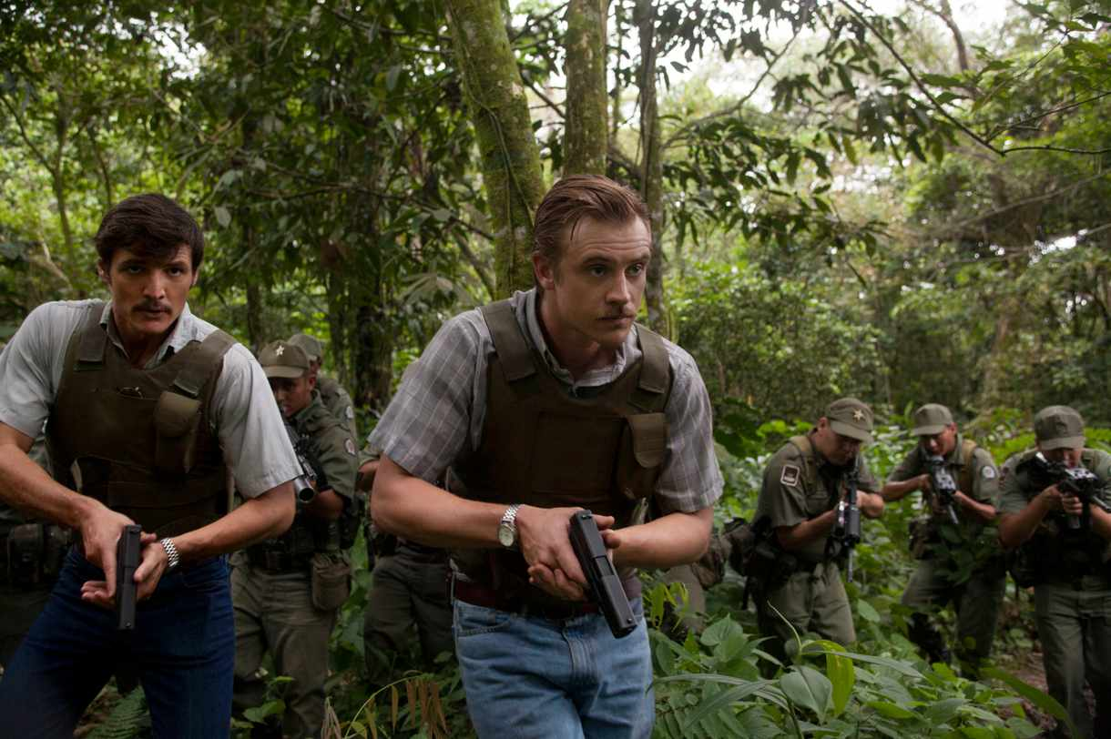 Steve Murphy and Javier Pena in Narcos