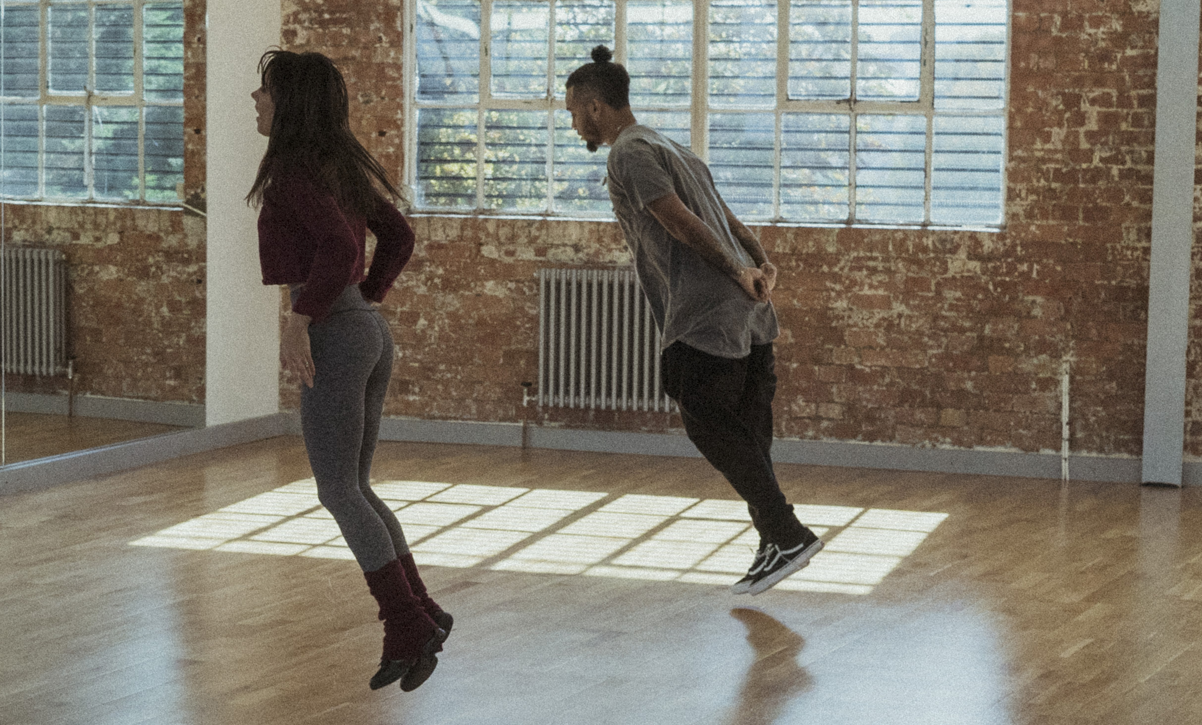 Rehearsal Strictly Come Dancing Aston Merrygold Janette Manrara
