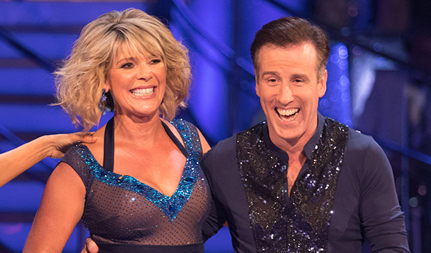 Ruth Langsford and Anton Du Beke on Strictly Come Dancing
