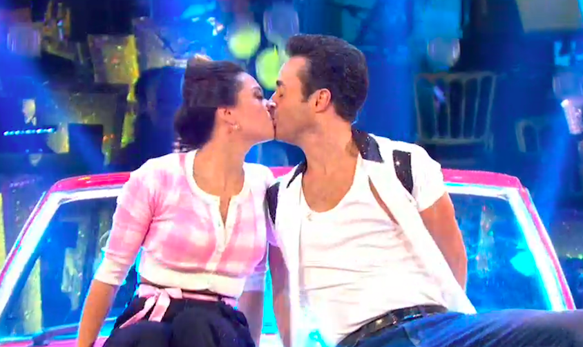 Joe McFadden and Katya Jones on Strictly Come Dancing