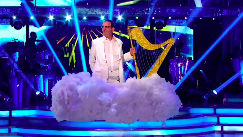 Richard Coles on Strictly Come Dancing