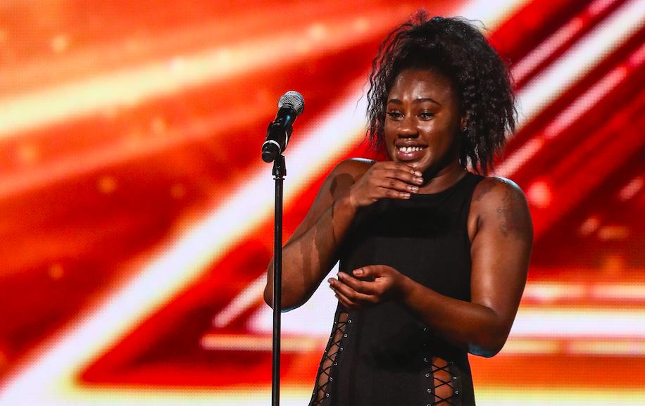 Georgina Panton on The X Factor