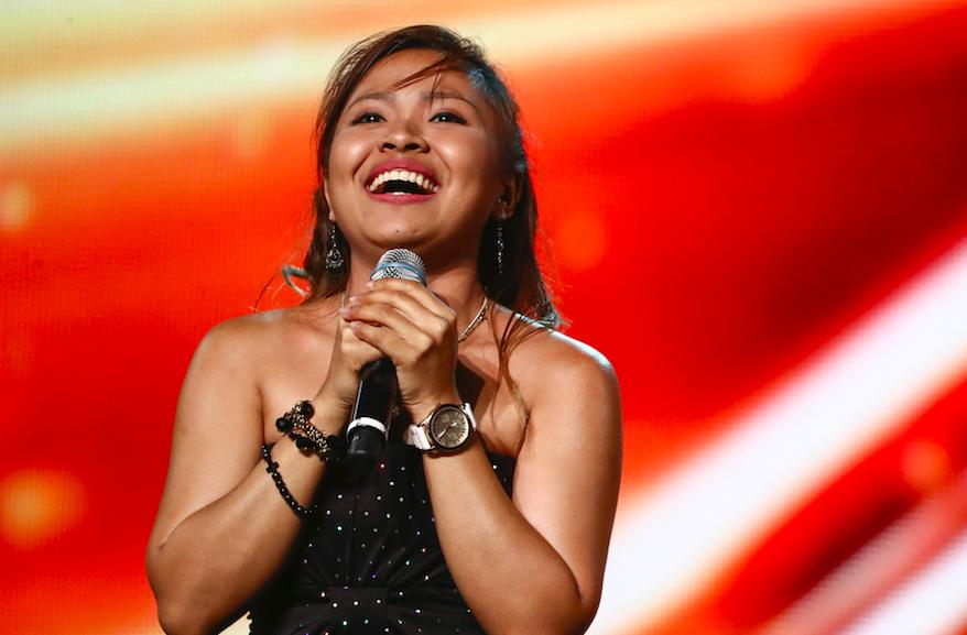 Alisah Bonaobra on The X Factor 2017