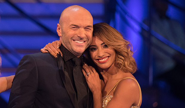 Simon Rimmer and Karen Clifton on Strictly Come Dancing