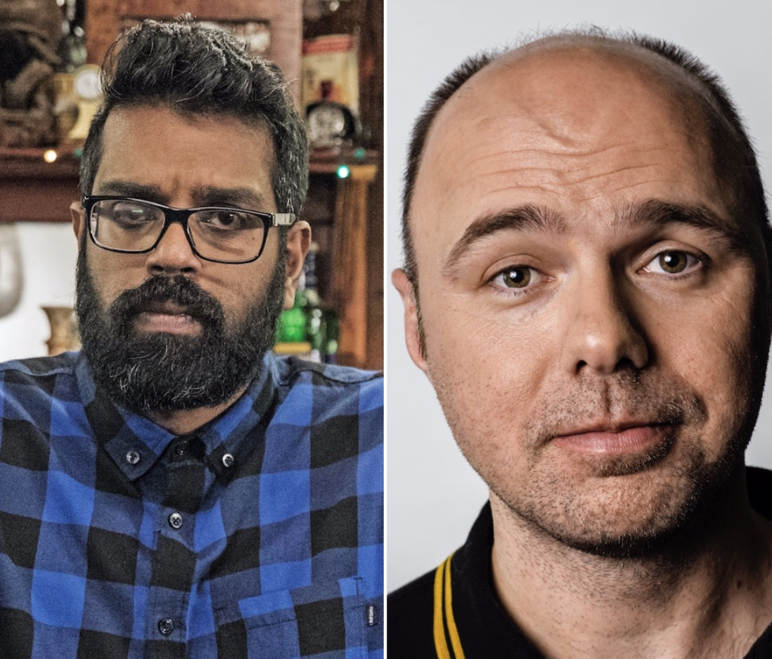 Sky comedies Romesh and Karl