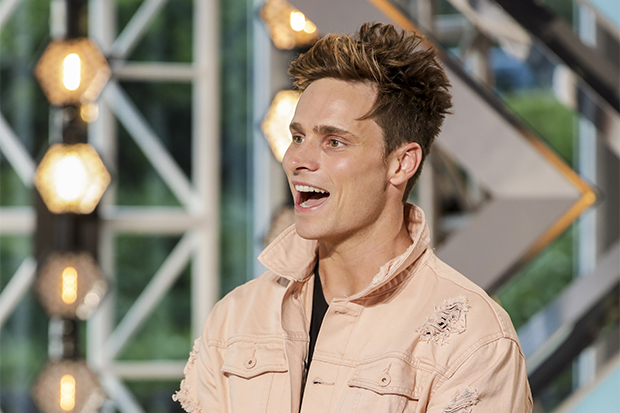 The X Factor contestant Spencer Sutherland