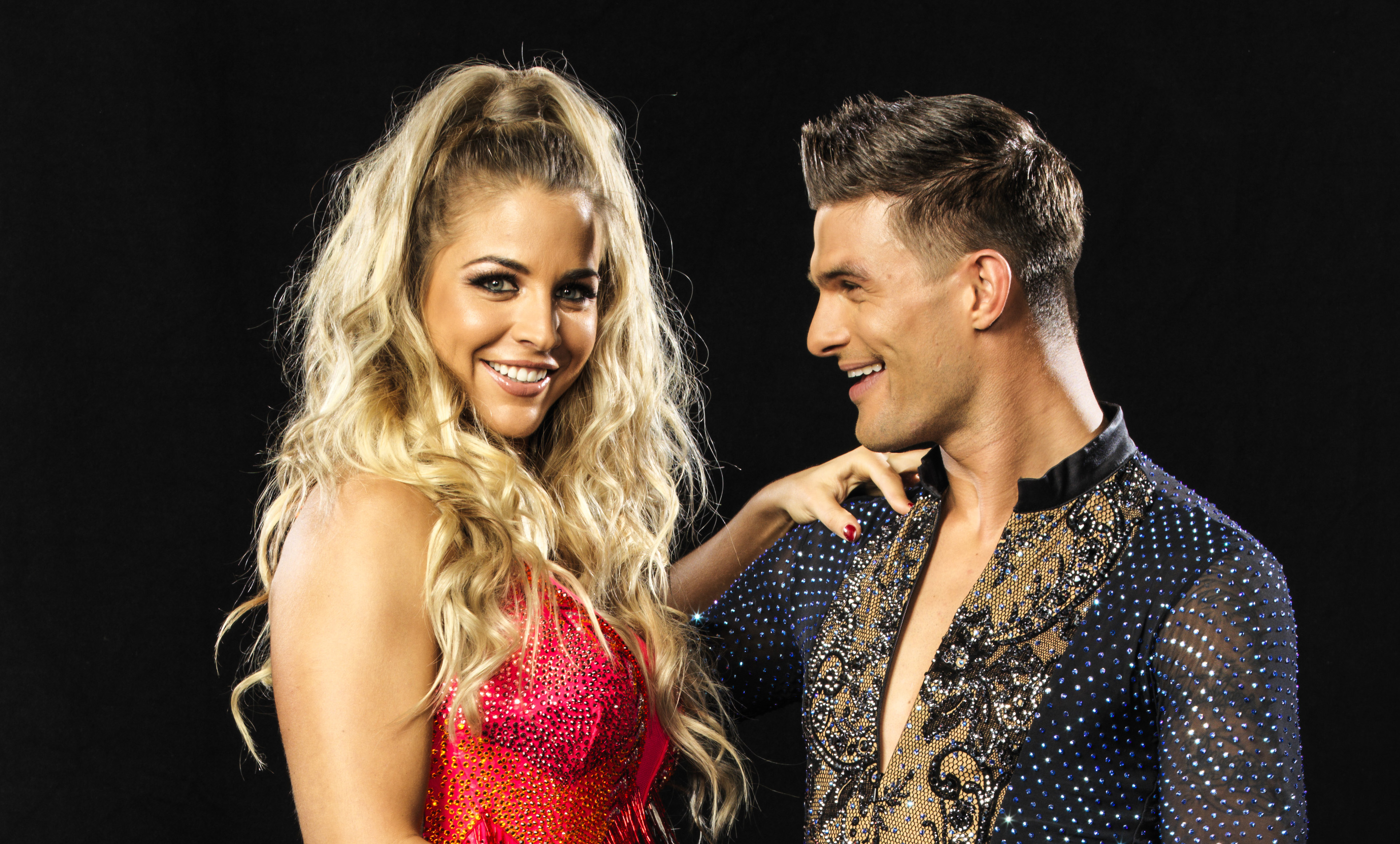 Strictly Come Dancing Gemma Atkinson Aljaz Skorjanec