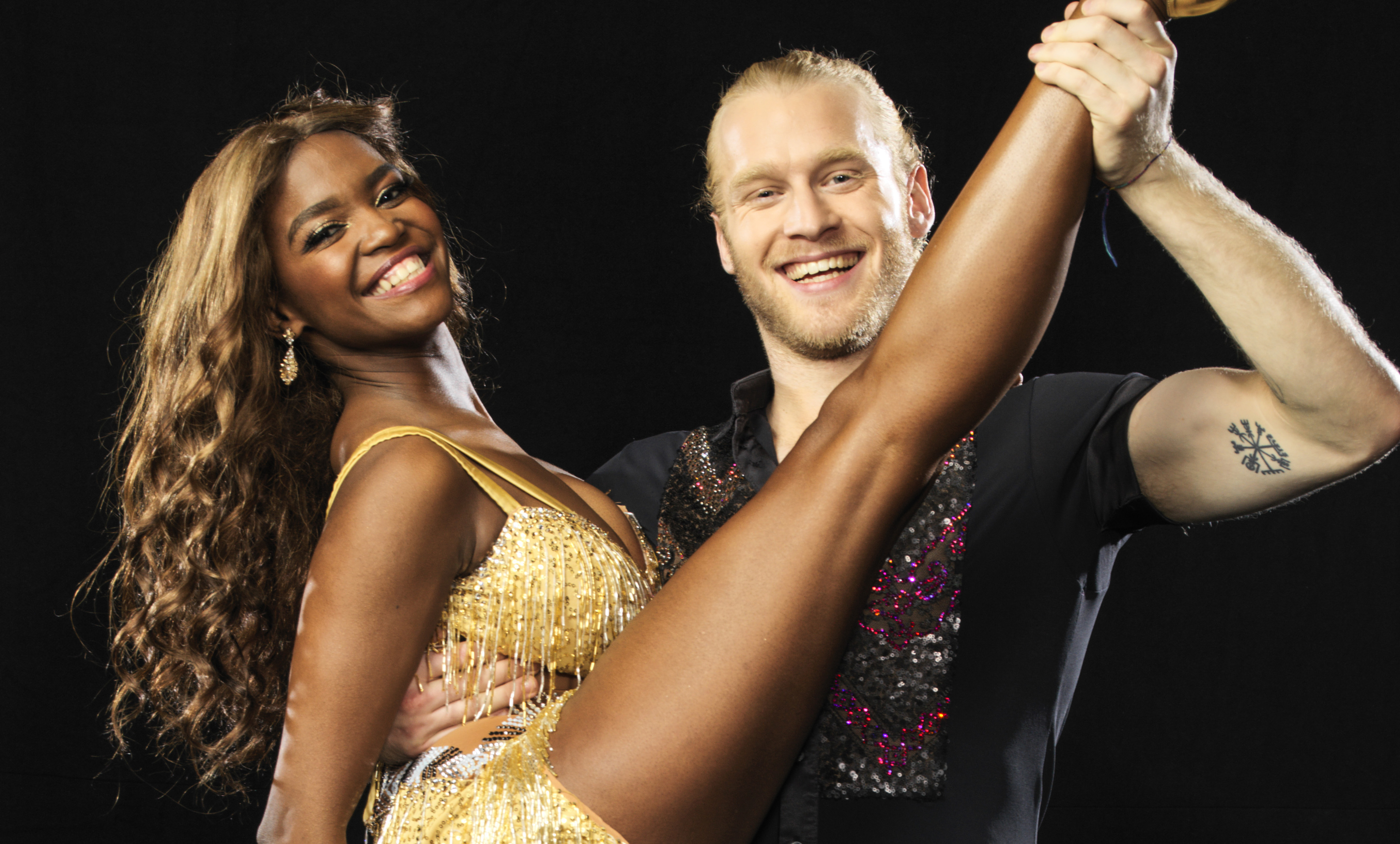 Strictly Come Dancing Jonnie Peacock Oti Mabuse