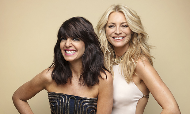 Strictly Come Dancing Tess Daly and Claudia Winkleman