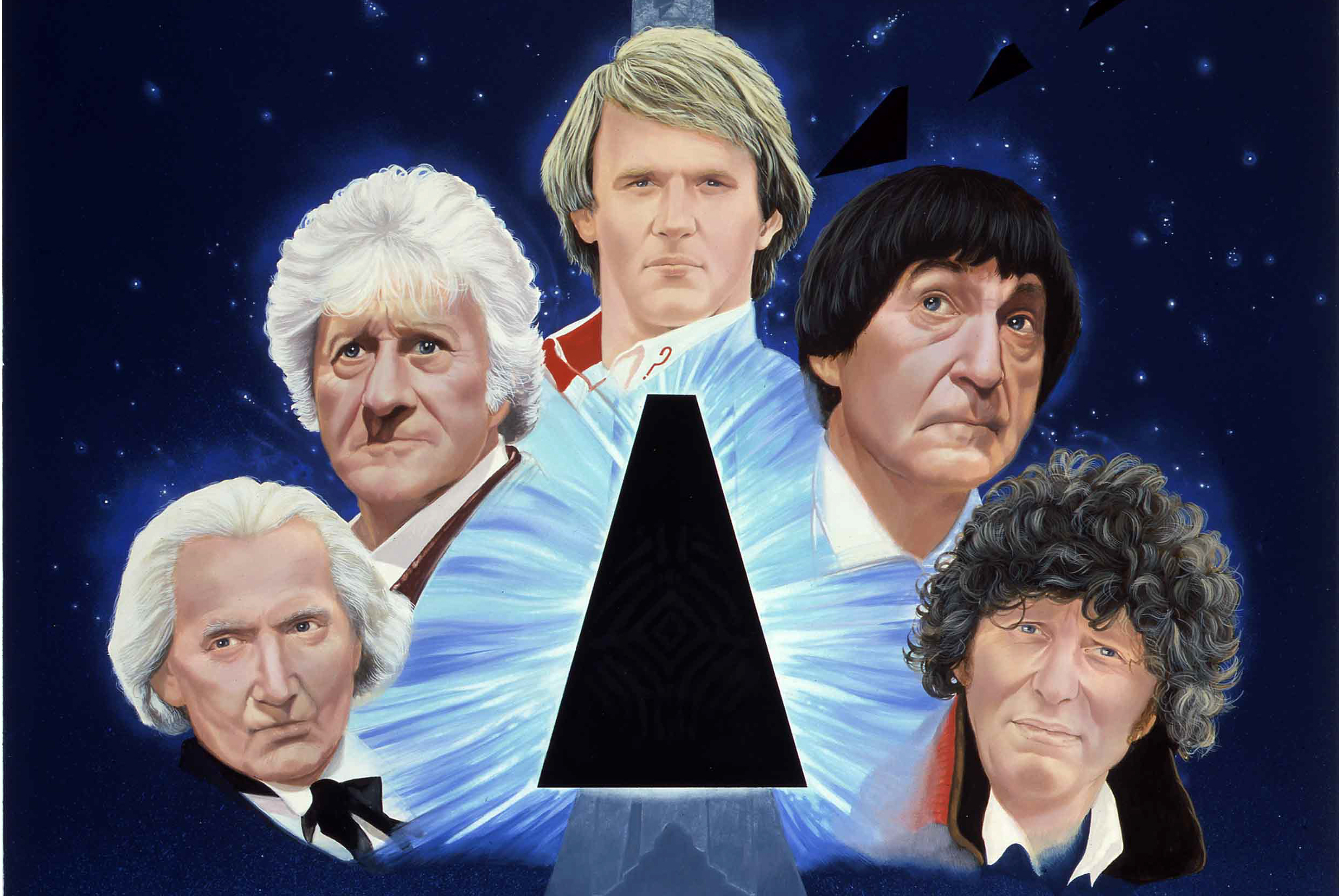 The Five Doctors artwork