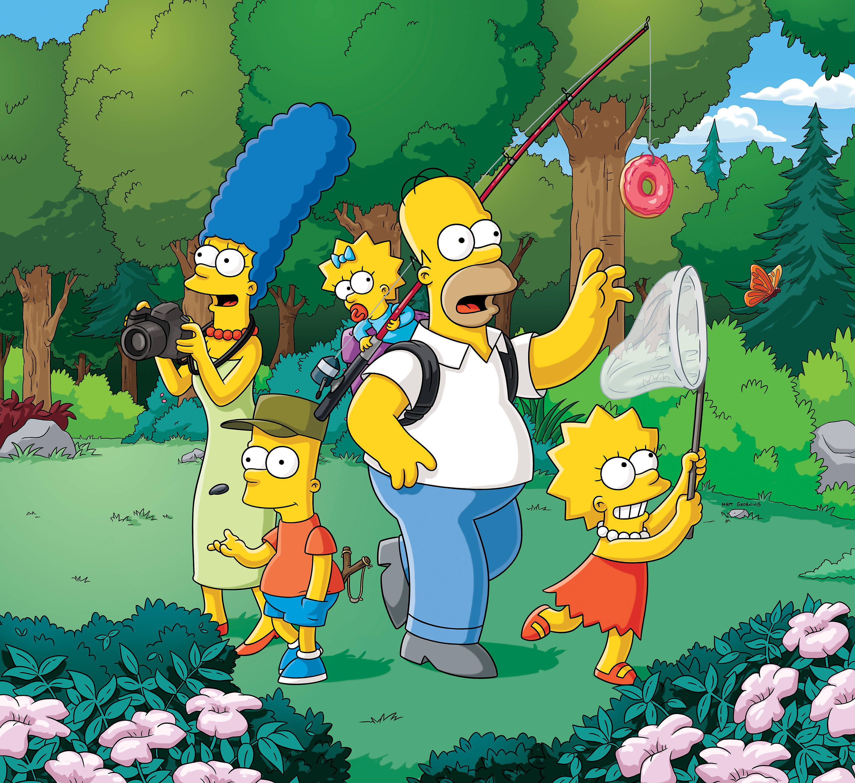 The Simpsons (FOX/Getty)