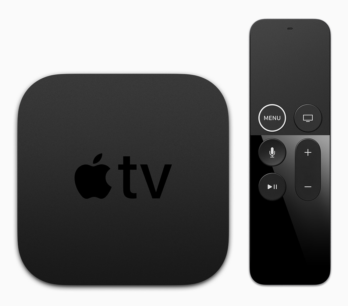 Apple TV 4K and Siri remote