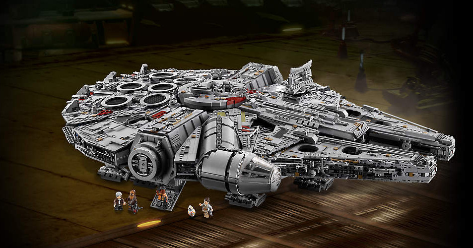 New Millennium Falcon is Lego's biggest set ever