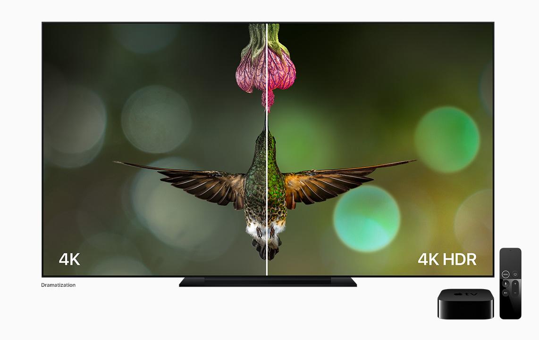 Apple TV 4K HDR comparison