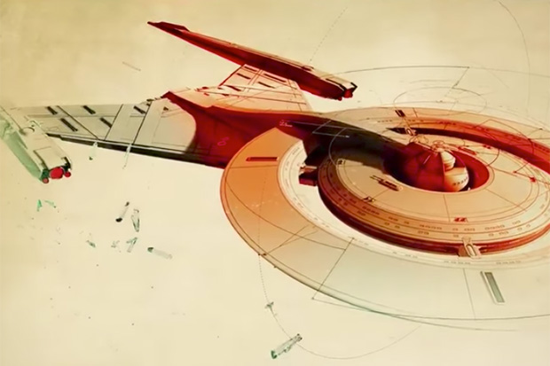 'Star Trek: Discovery' Main Title Sequence Debuts Before Series Premiere!