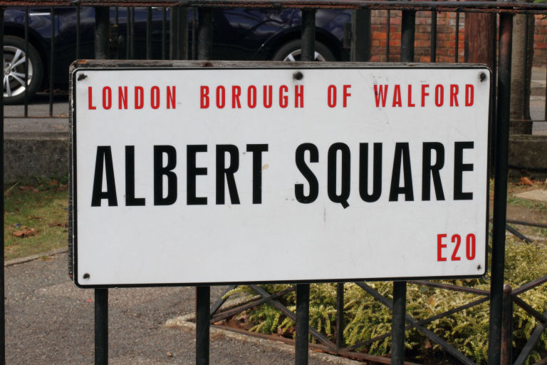 Albert Square - Walford sign