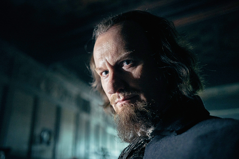 Mark Gatiss as Robert Cecil in Gunpowder (BBC, HF)