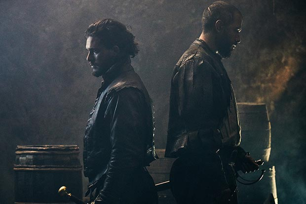 Kit Harington and Tom Cullen in Gunpowder