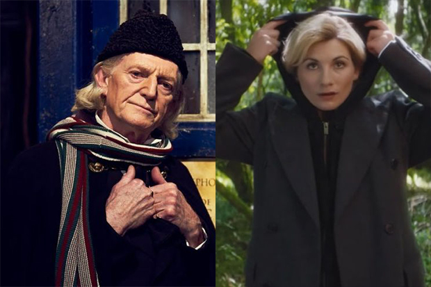 David Bradley and Jodie Whittaker (BBC HF)