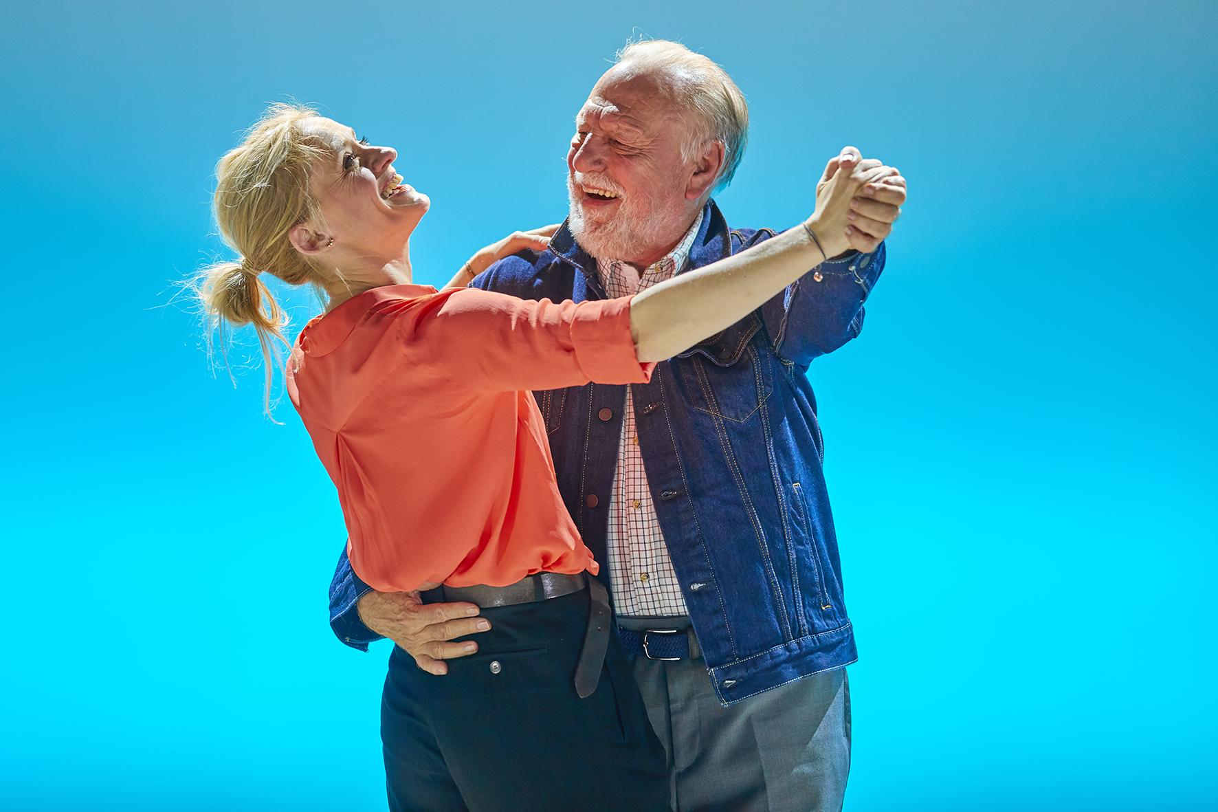 Anne-Marie Duff and Kenneth Cranahm