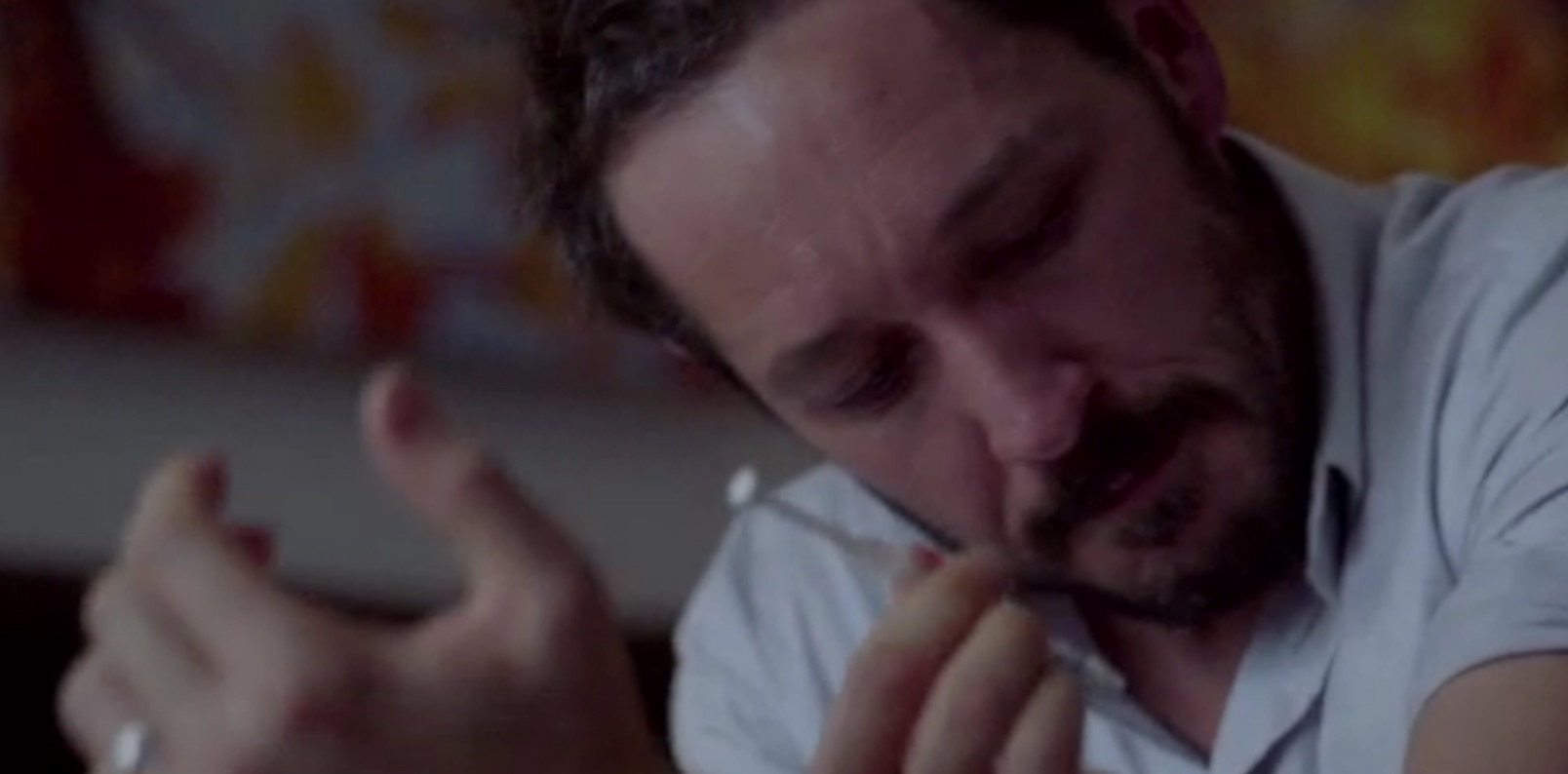 Bertie Carvel syringe USE