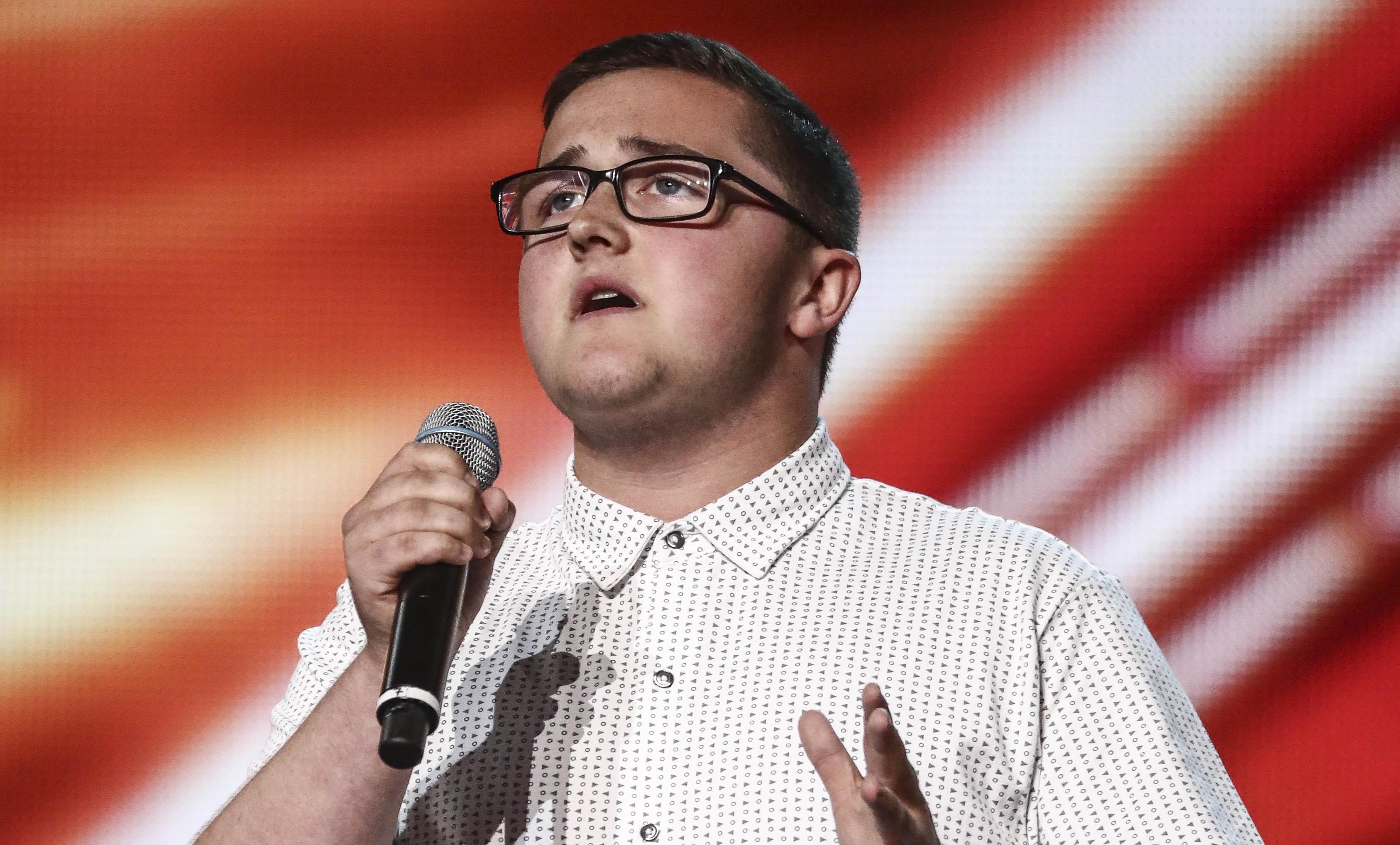 Daniel Quick on The X Factor