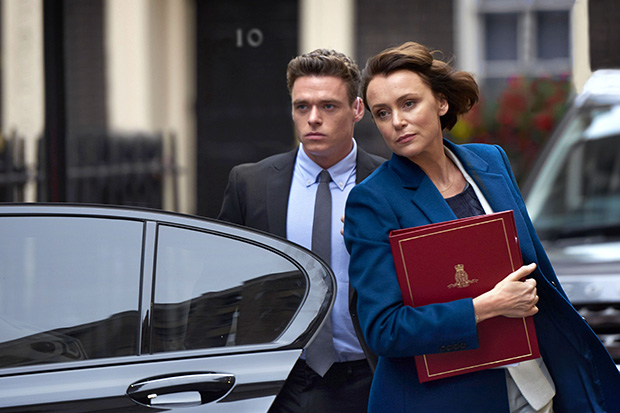 EMBARGOED UNTIL 00.01 THURS 5TH OCTOBER - BODYGUARD FIRST LOOK IMAGE