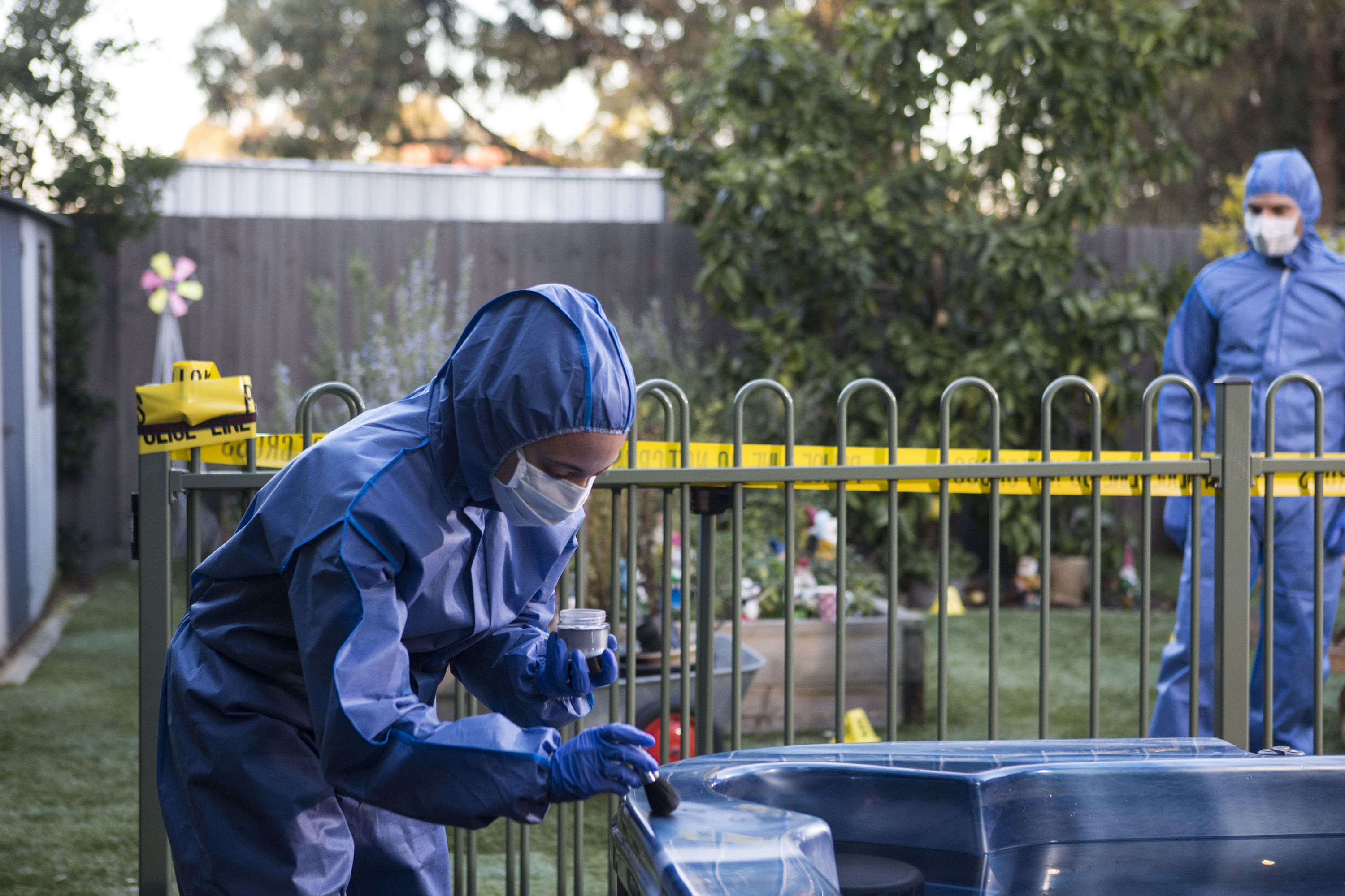 Neighbours Week 45 Ep 7727 - Steph makes a grim discovery - Embargo 30 October jh