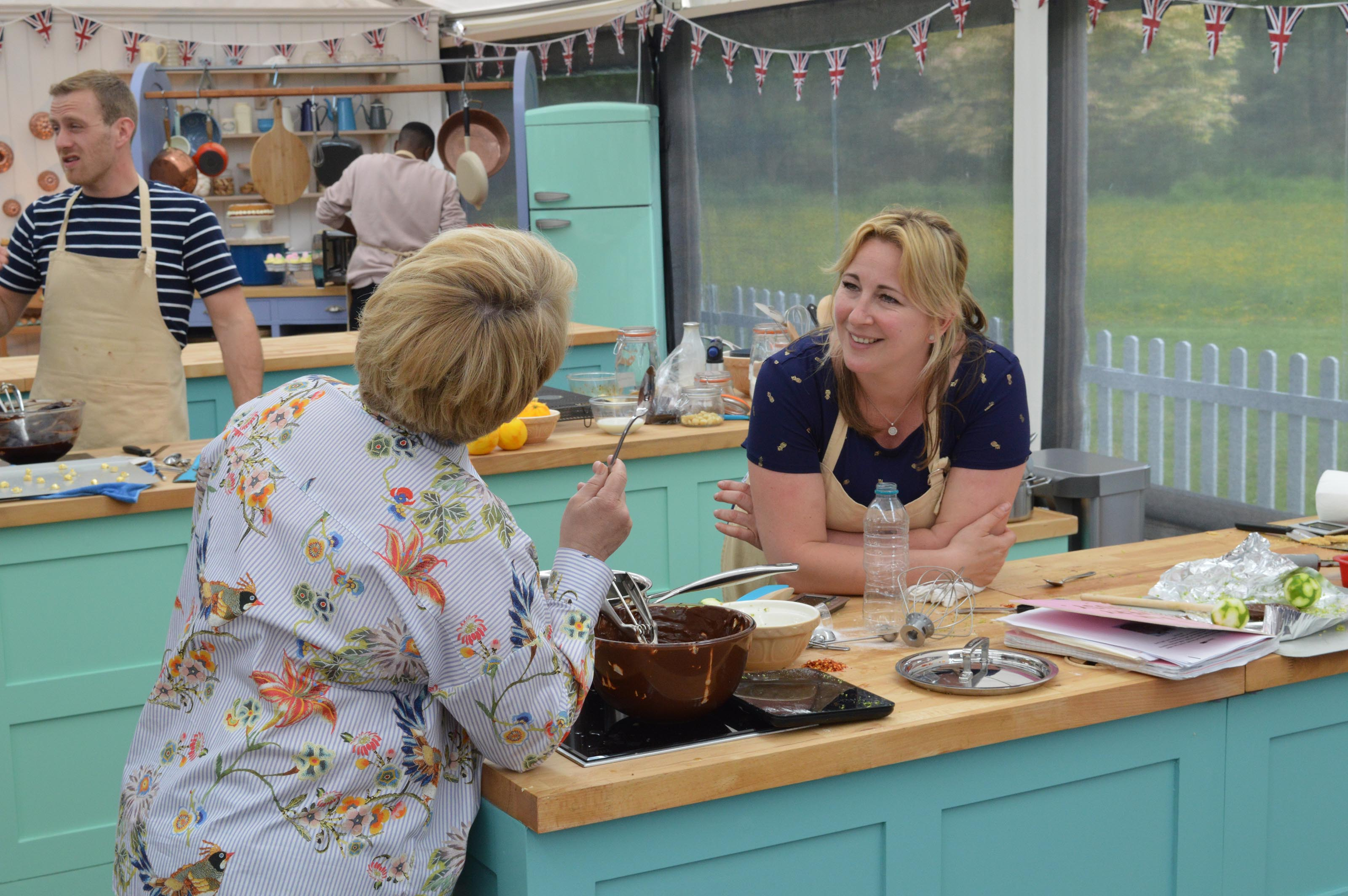 The Great British Bake Off's Stacey Hart