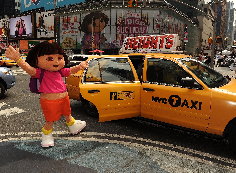 Dora the Explorer (Getty, BA)